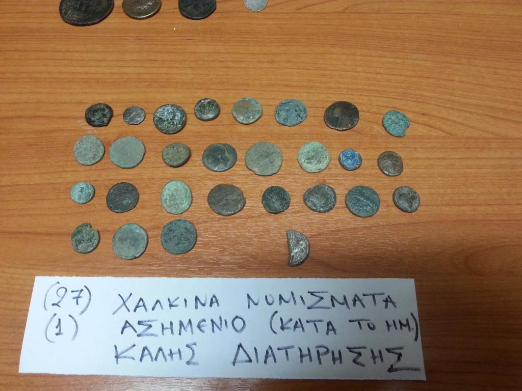 Αρχαιοκαπηλία - Βόνιτσα - 2015