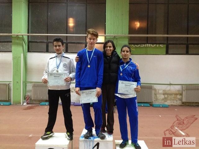 Σημαντικές επιδόσεις για τον Γυμναστικό Σύλλογο Λευκάδας κατά τη συμμετοχή του στην Ημερίδα Κλειστού Στοίβου στα Ιωάννινα